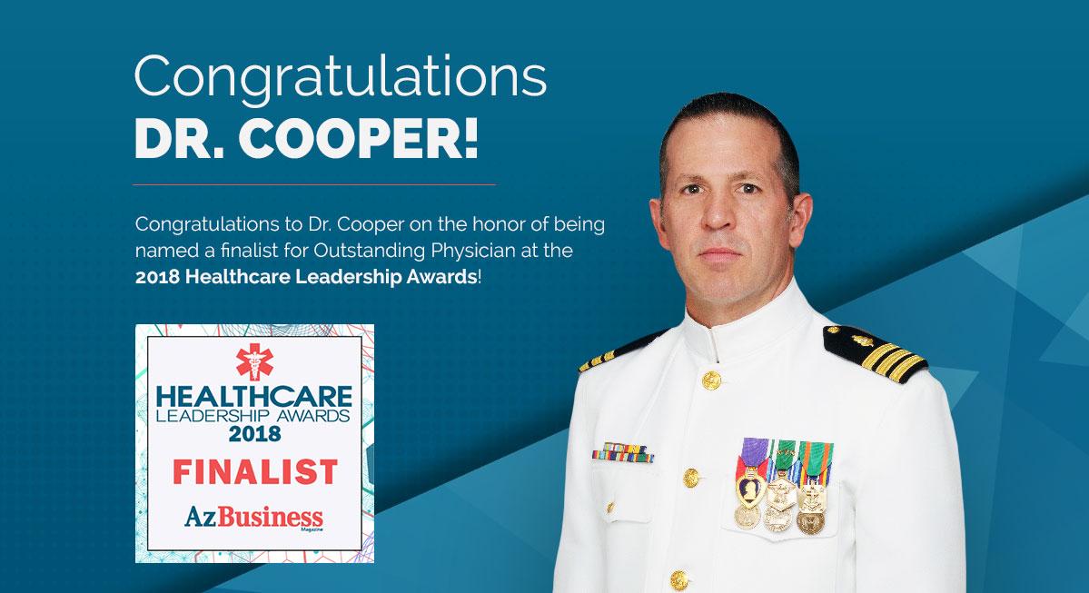 Congratulations Dr. Cooper