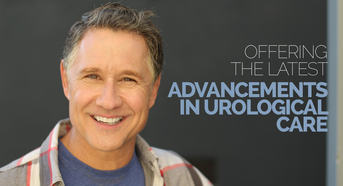 Offering the latest advancements in urological care
