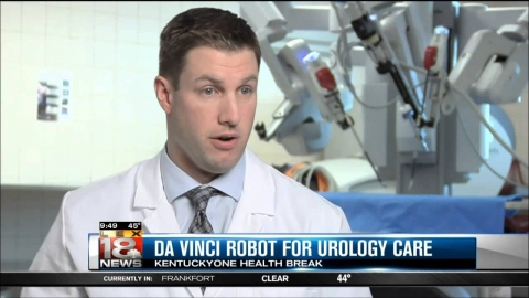 Dr. Kevin Art on Da Vinci Robot For Urology Care